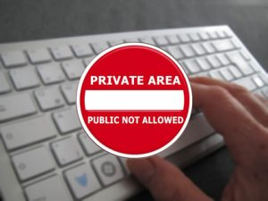 Política de privacidad en la web